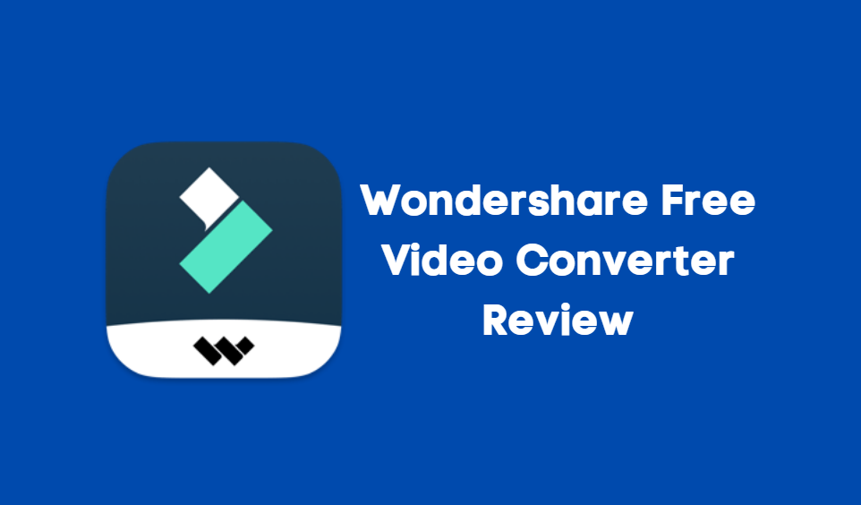 Wondershare Free Video Converter Review